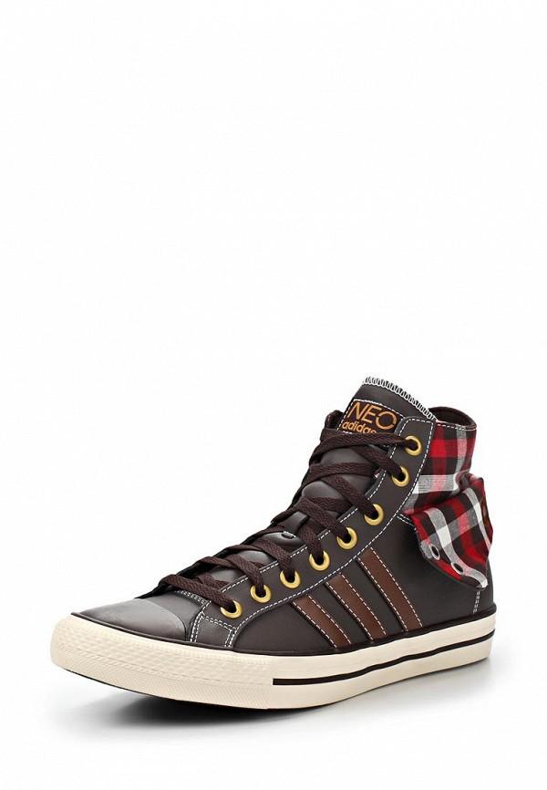 Мужские кеды Adidas Neo (Адидас Нео) Q38678: изображение 1