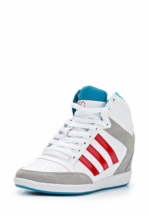 Женские кеды Adidas Neo (Адидас Нео) Q26471: изображение 1