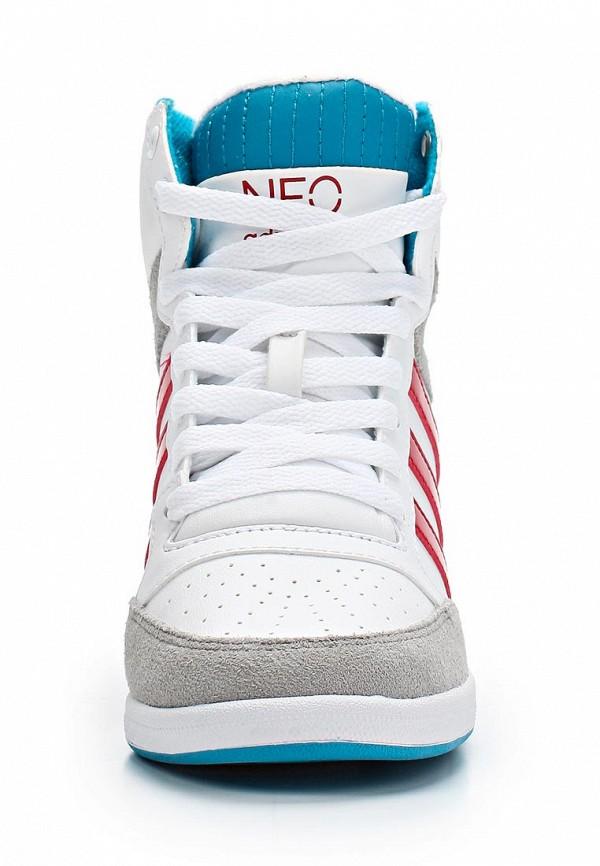 Женские кеды Adidas Neo (Адидас Нео) Q26471: изображение 4