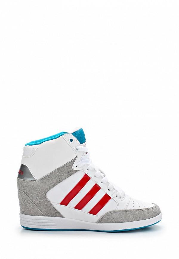 Женские кеды Adidas Neo (Адидас Нео) Q26471: изображение 5