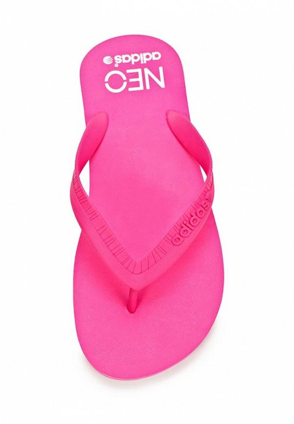 Женские сланцы Adidas Neo (Адидас Нео) Q26043: изображение 3