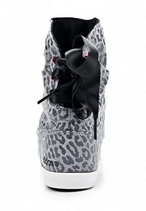 фото Женские полусапоги-дутики adidas Neo AD003AWBZM70, серые/демисезон