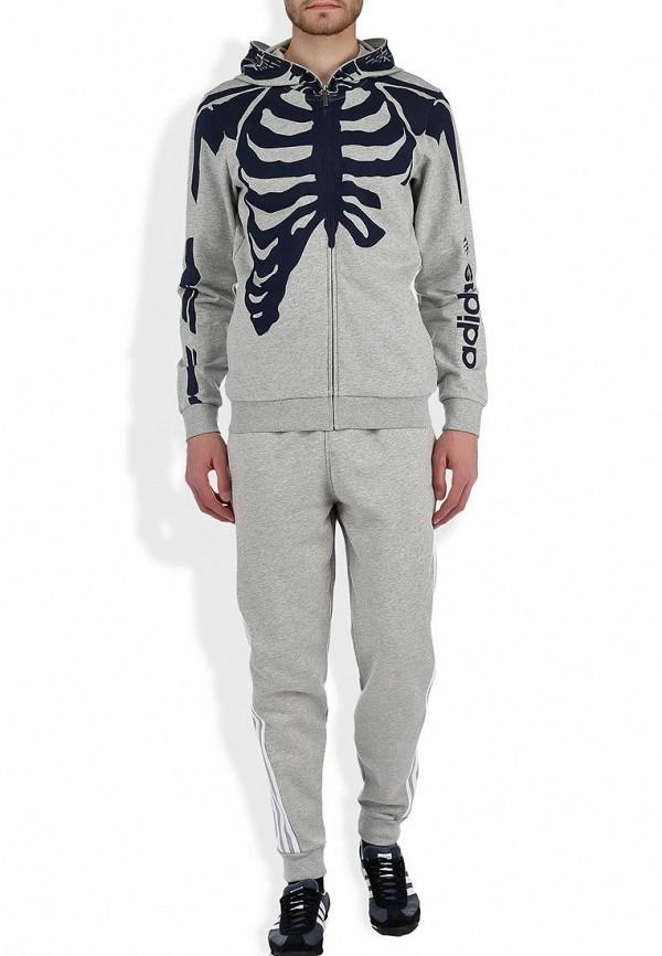 Мужские спортивные брюки Adidas Neo (Адидас Нео) F78917: изображение 4