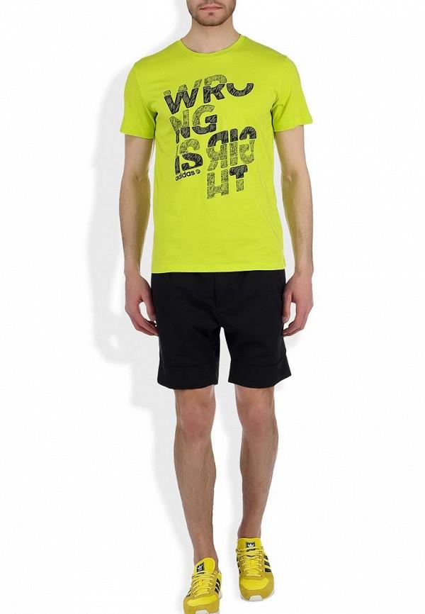 Футболка Adidas Neo (Адидас Нео) F81361: изображение 3