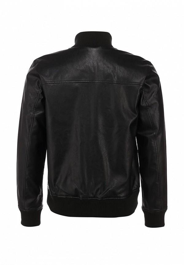 Кожаная куртка Adidas Neo (Адидас Нео) Z73345: изображение 3