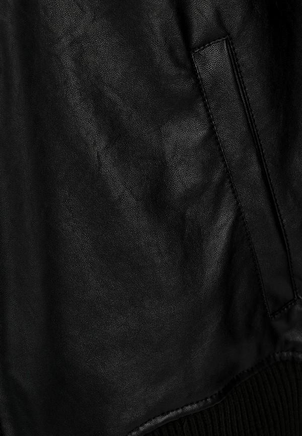Кожаная куртка Adidas Neo (Адидас Нео) Z73345: изображение 5