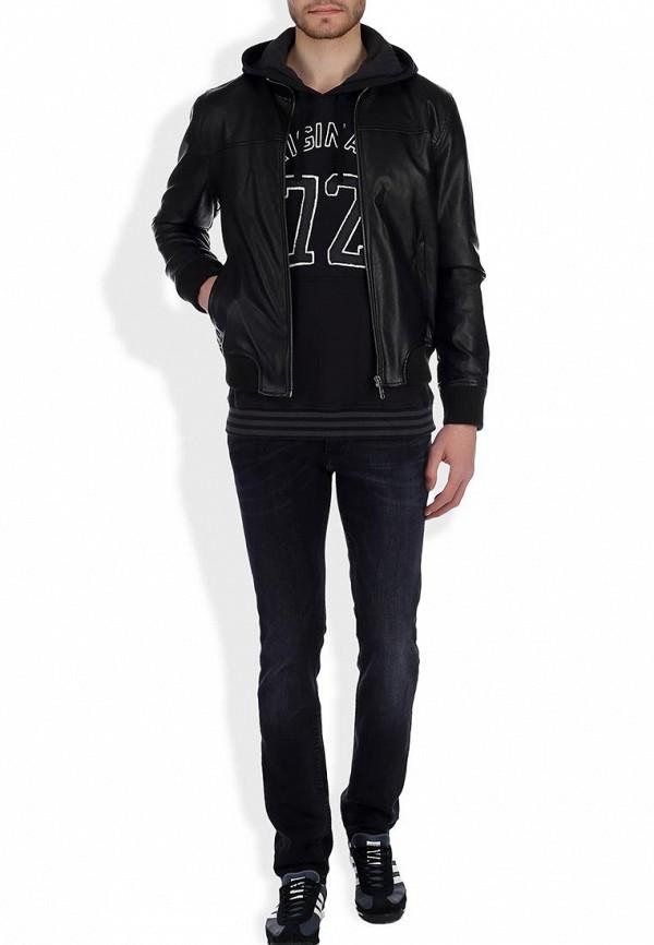 Кожаная куртка Adidas Neo (Адидас Нео) Z73345: изображение 7