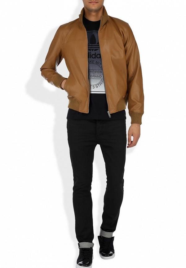 Кожаная куртка Adidas Neo (Адидас Нео) Z73346: изображение 8
