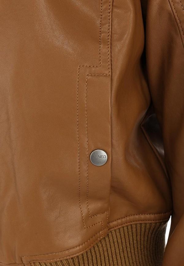 Кожаная куртка Adidas Neo (Адидас Нео) Z73344: изображение 4