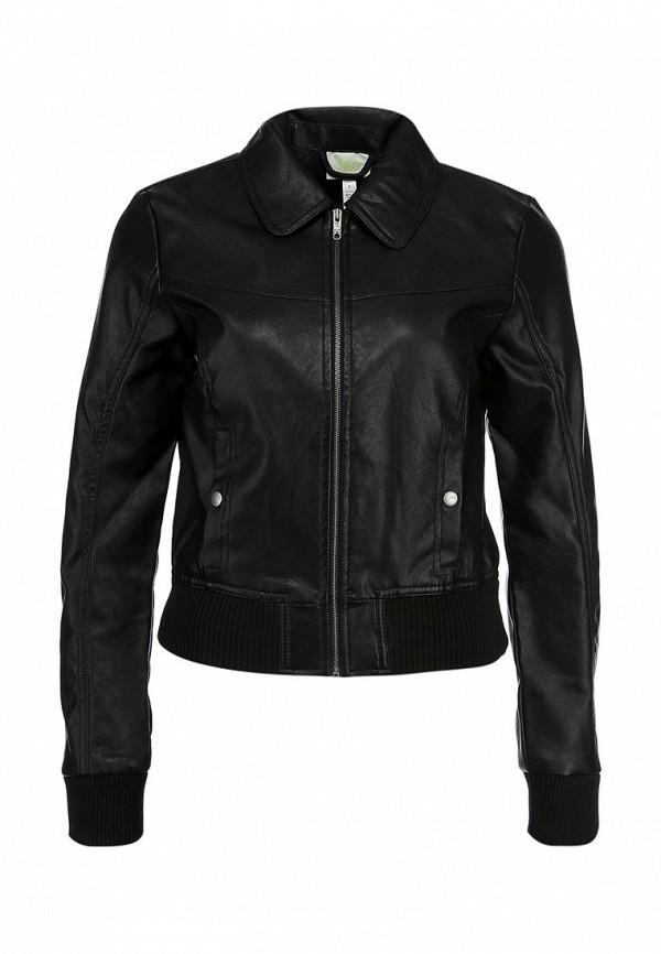 Кожаная куртка Adidas Neo (Адидас Нео) Z73342: изображение 1