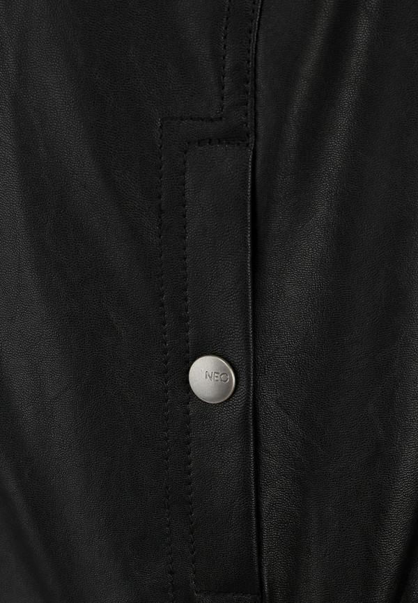 Кожаная куртка Adidas Neo (Адидас Нео) Z73342: изображение 3