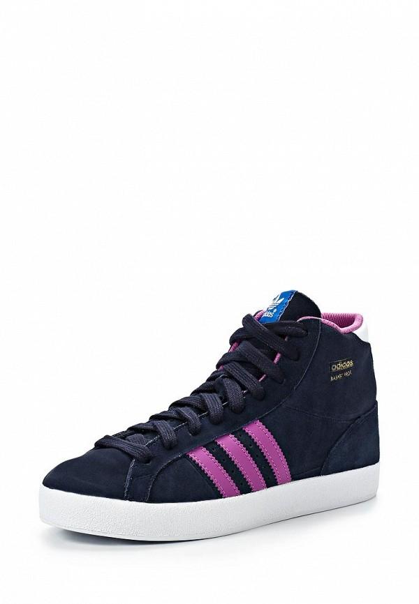 Кеды для мальчиков Adidas Originals (Адидас Ориджиналс) D67686: изображение 1