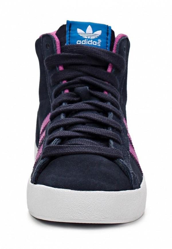 Кеды для мальчиков Adidas Originals (Адидас Ориджиналс) D67686: изображение 8