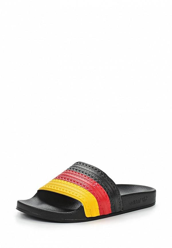 Женские сланцы Adidas Originals (Адидас Ориджиналс) D65796: изображение 1