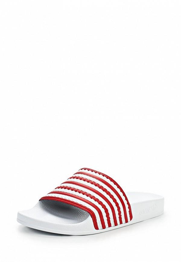 Женские сланцы Adidas Originals (Адидас Ориджиналс) D65797: изображение 1