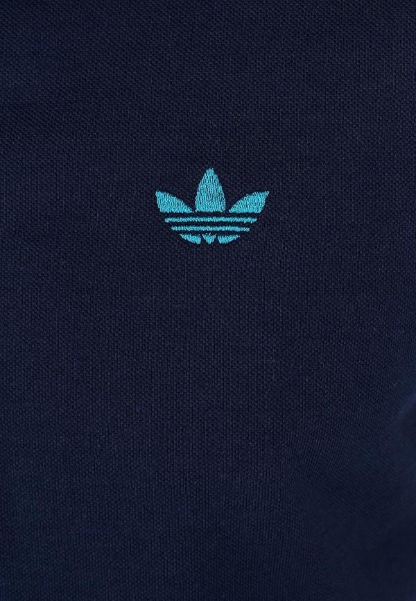 Мужские поло Adidas Originals (Адидас Ориджиналс) W69260: изображение 5