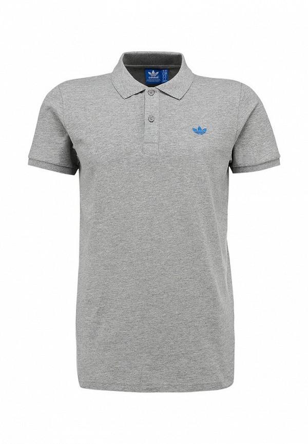 Мужские поло Adidas Originals (Адидас Ориджиналс) W64460: изображение 2