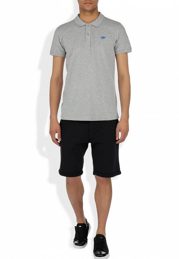Мужские поло Adidas Originals (Адидас Ориджиналс) W64460: изображение 8