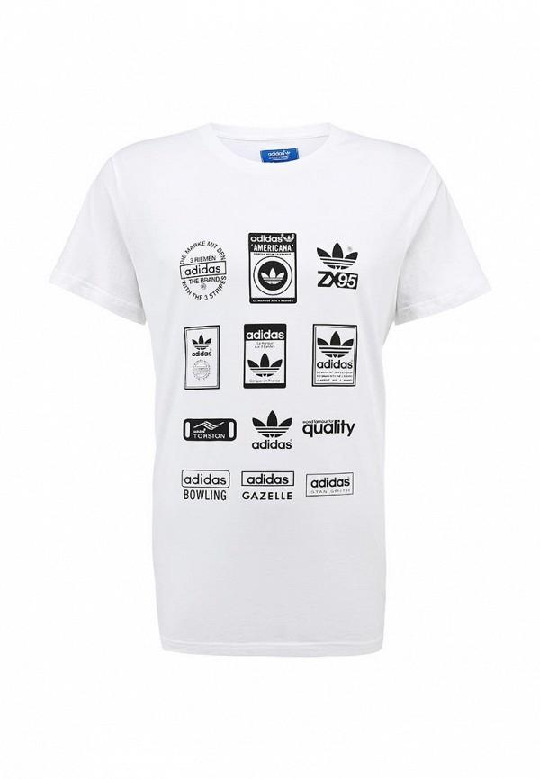 Спортивная футболка Adidas Originals (Адидас Ориджиналс) G86575: изображение 1