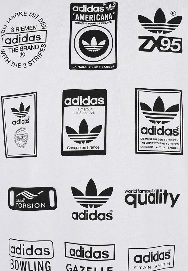 Спортивная футболка Adidas Originals (Адидас Ориджиналс) G86575: изображение 3