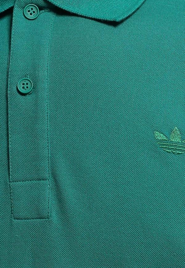 Мужские поло Adidas Originals (Адидас Ориджиналс) M30150: изображение 4