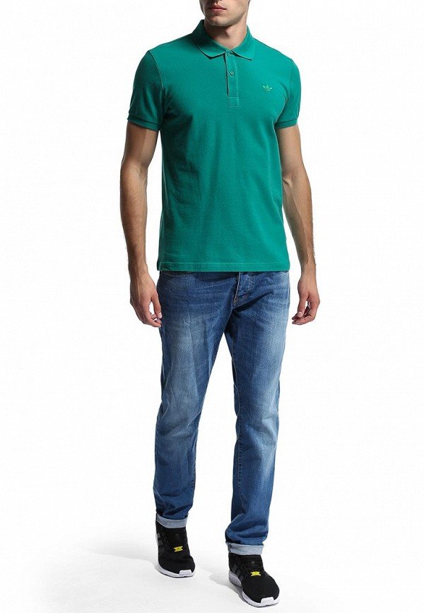 Мужские поло Adidas Originals (Адидас Ориджиналс) M30150: изображение 6