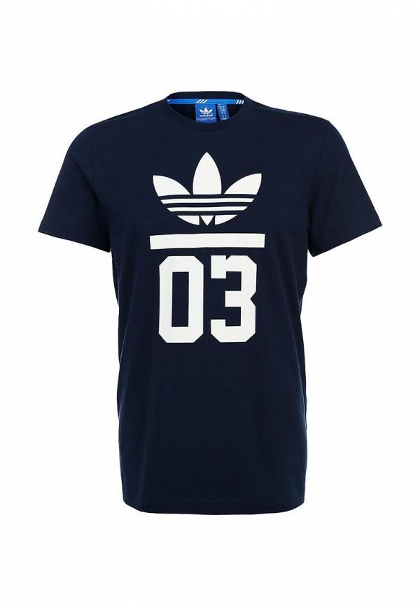 Футболка с надписями Adidas Originals (Адидас Ориджиналс) M30250: изображение 2