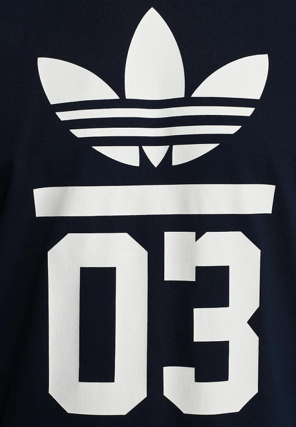 Футболка с надписями Adidas Originals (Адидас Ориджиналс) M30250: изображение 4