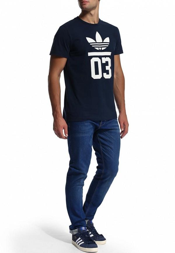 Футболка с надписями Adidas Originals (Адидас Ориджиналс) M30250: изображение 6