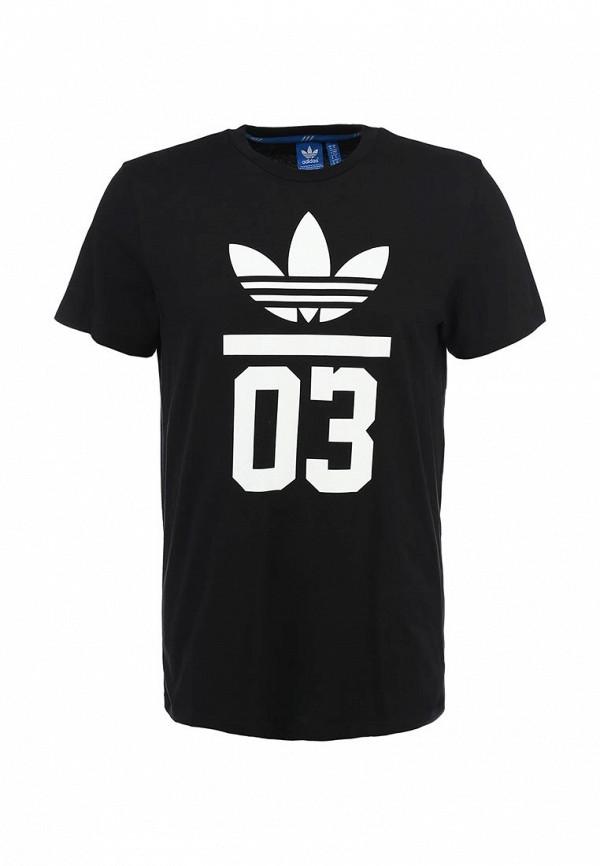 Футболка с надписями Adidas Originals (Адидас Ориджиналс) M30252: изображение 2