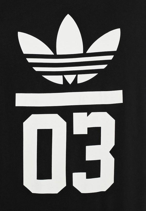 Футболка с надписями Adidas Originals (Адидас Ориджиналс) M30252: изображение 4