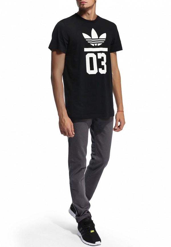 Футболка с надписями Adidas Originals (Адидас Ориджиналс) M30252: изображение 6