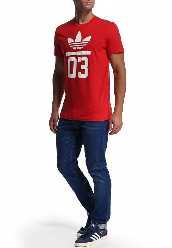 Спортивная футболка Adidas Originals (Адидас Ориджиналс) M30254: изображение 6