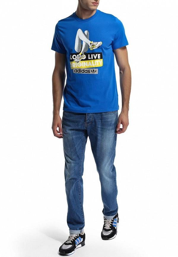 Спортивная футболка Adidas Originals (Адидас Ориджиналс) M69237: изображение 6