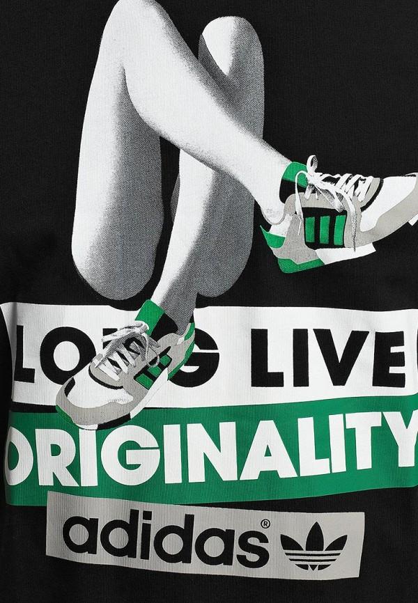Футболка с надписями Adidas Originals (Адидас Ориджиналс) M69239: изображение 4
