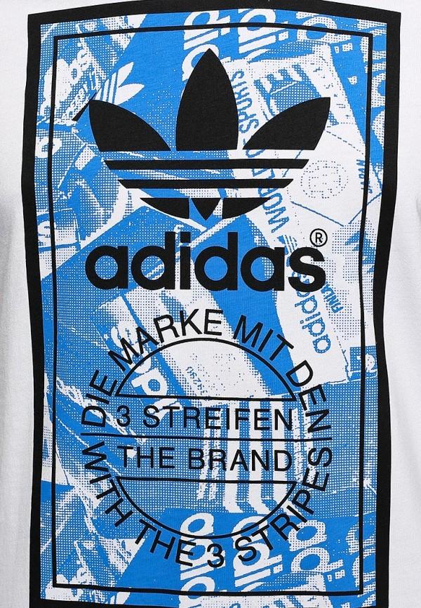 Футболка с надписями Adidas Originals (Адидас Ориджиналс) M69334: изображение 4