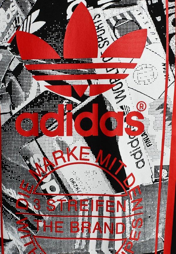 Футболка с надписями Adidas Originals (Адидас Ориджиналс) M69335: изображение 4