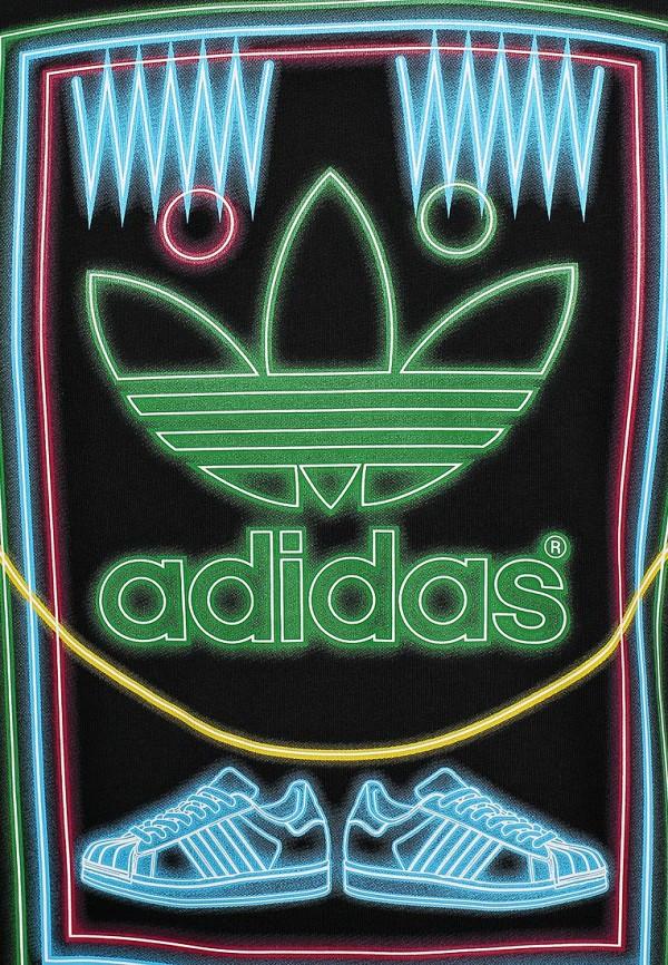 Футболка с надписями Adidas Originals (Адидас Ориджиналс) M69336: изображение 4