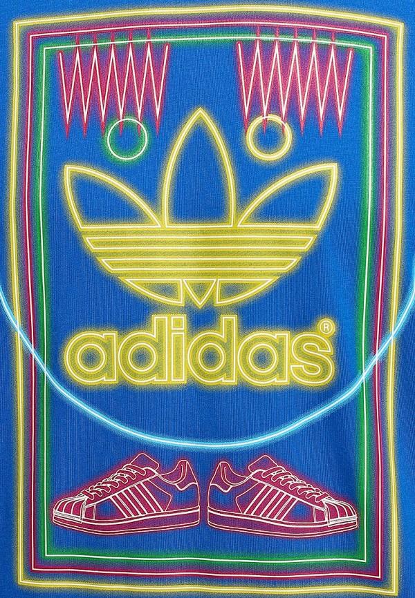 Футболка с надписями Adidas Originals (Адидас Ориджиналс) M69337: изображение 4