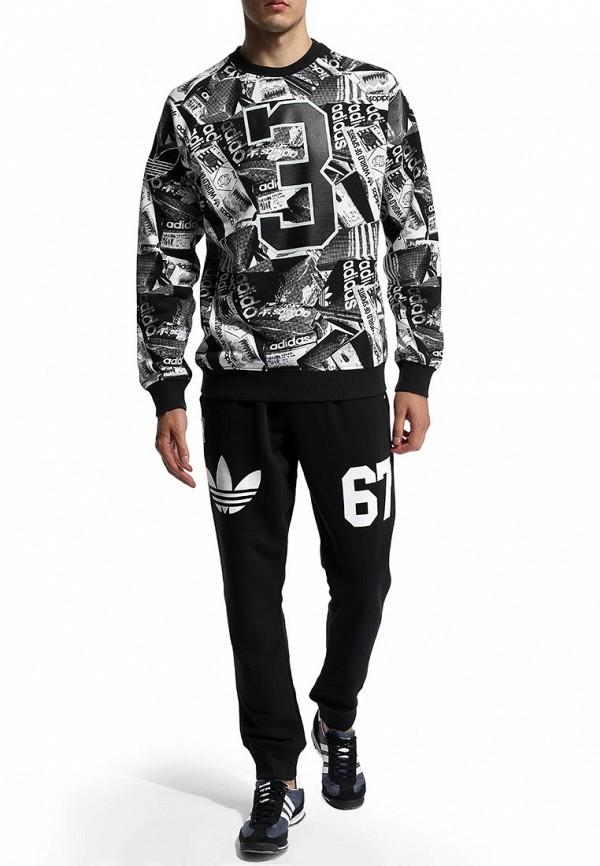 Мужские спортивные брюки Adidas Originals (Адидас Ориджиналс) S08241: изображение 6