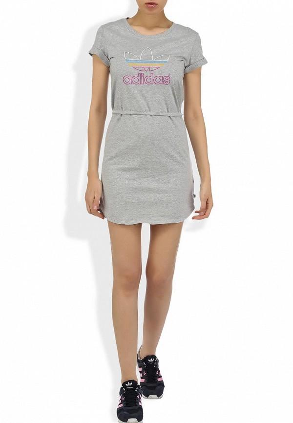 Платье-мини Adidas Originals (Адидас Ориджиналс) F78399: изображение 4