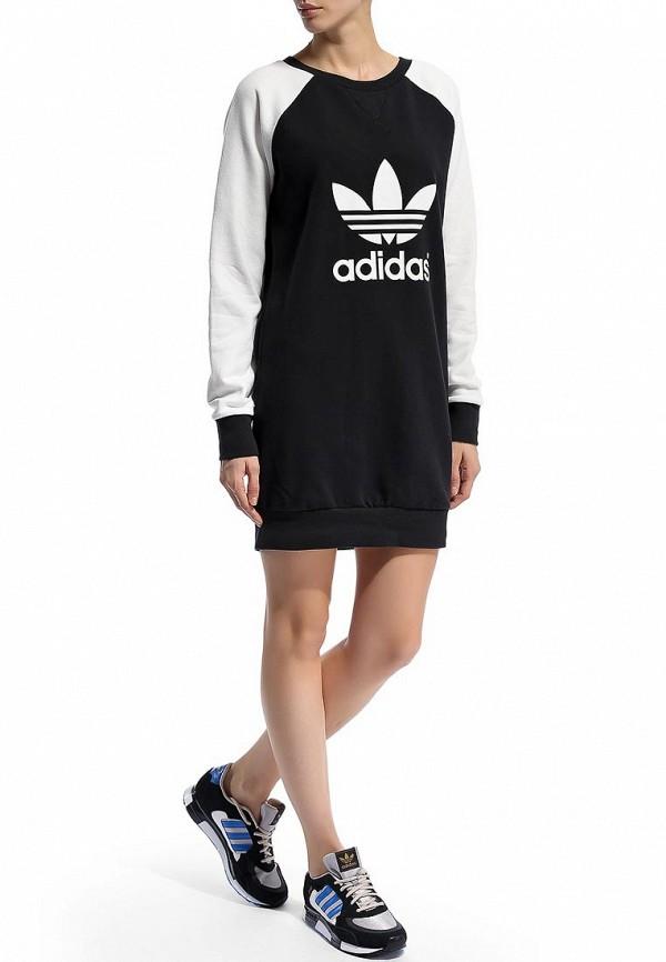 Платье-мини Adidas Originals (Адидас Ориджиналс) M30770: изображение 6
