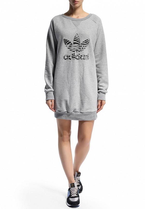 Платье-мини Adidas Originals (Адидас Ориджиналс) M30776: изображение 7