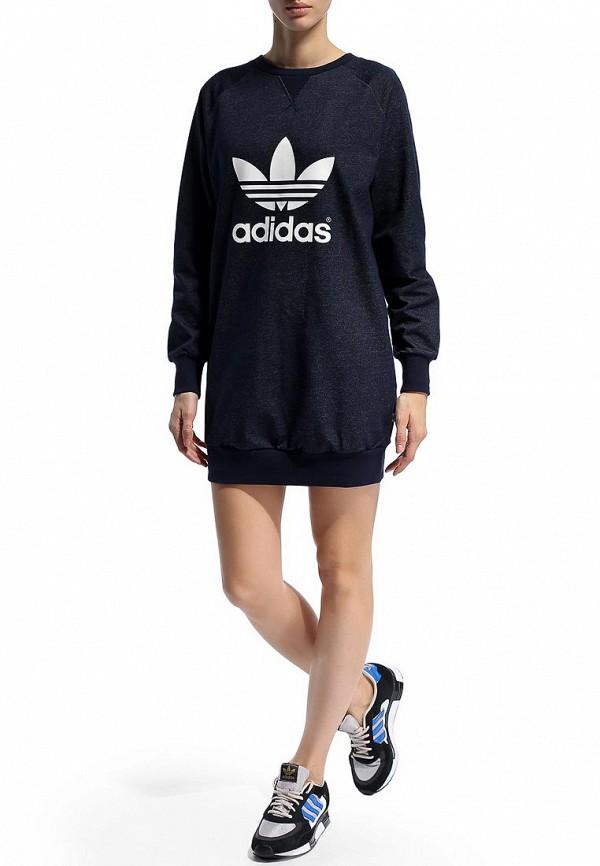 Платье-мини Adidas Originals (Адидас Ориджиналс) M30779: изображение 6