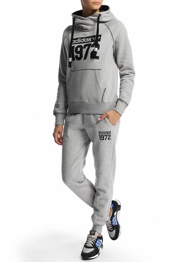 Флисовая толстовка Adidas Originals (Адидас Ориджиналс) M69933: изображение 6