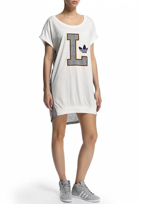 Платье-мини Adidas Originals (Адидас Ориджиналс) M69955: изображение 6