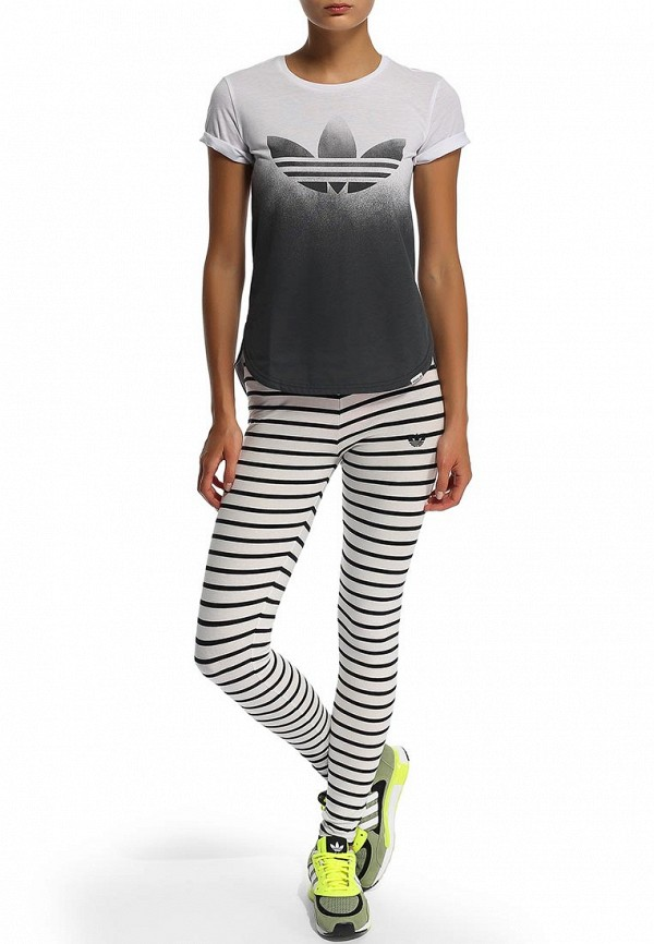Женские леггинсы Adidas Originals (Адидас Ориджиналс) G77403: изображение 6