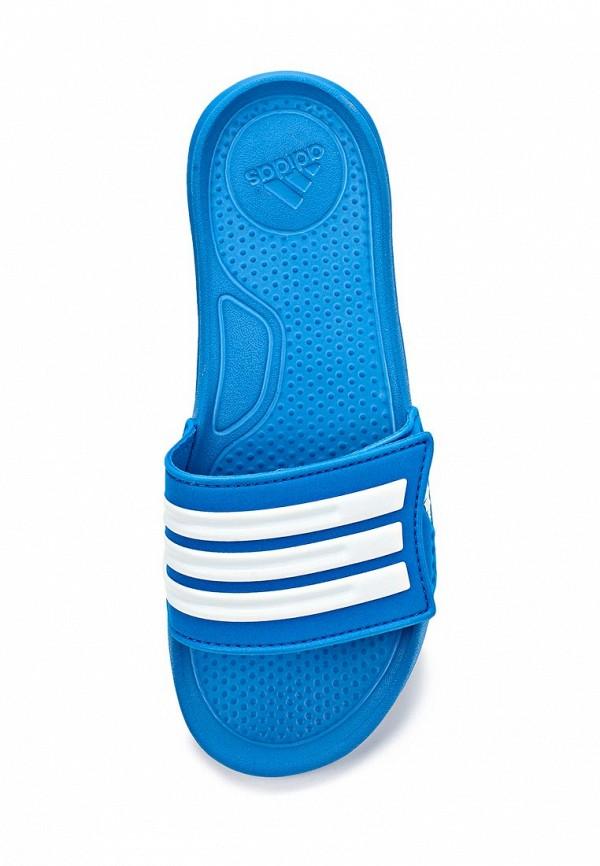 Сланцы для мальчиков Adidas Performance (Адидас Перфоманс) D67499: изображение 4