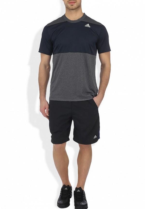 Мужские спортивные шорты Adidas Performance (Адидас Перфоманс) G70131: изображение 4