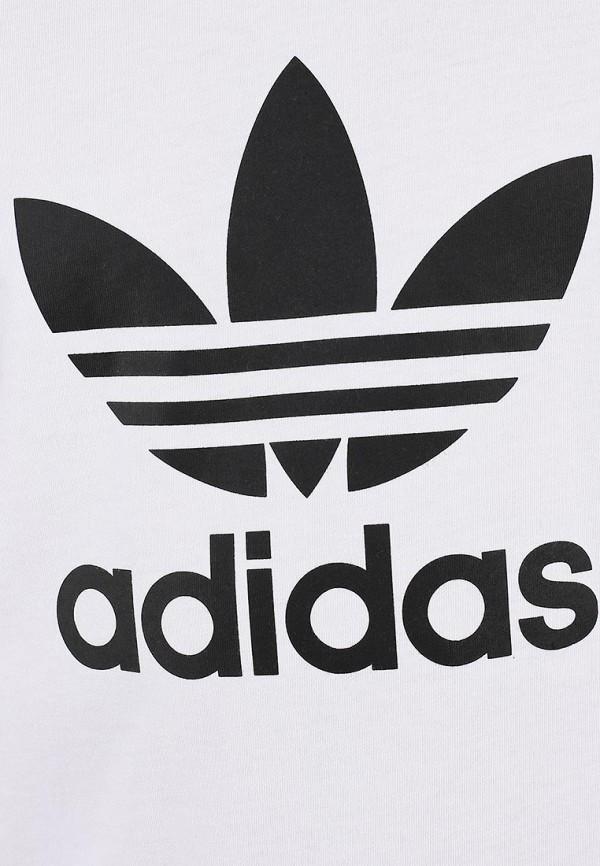 Футболка с надписями Adidas Originals (Адидас Ориджиналс) X41281: изображение 5